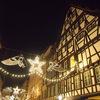 フランス・ストラスブール:アルザス地方ストラスブールのクリスマスマーケット