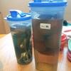 出汁とリンゴ酢