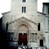 アルルのサン・トロフィーム聖堂のファサード
