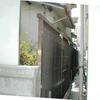自作アルミフェンス1-3(オリジナル アルミ支柱と樹脂波板仕上)