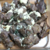 男の家庭ジビエ料理♪猪肉のバジルチーズ焼き
