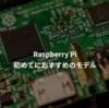 Raspberry Piの購入方法・初めてにおススメのモデルについて