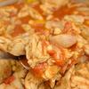 鶏肉と豆のチリトマト煮