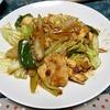 回鍋肉と鮭の塩焼き