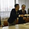 高島市長に公開討論を申し入れ