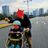 【パレスサイクリング】東京での家族遊びにおすすめ!皇居の周りをサイクリング!芝生でピクニックも出来ちゃうよ!