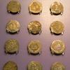 西安大唐西市博物館(その48:3階シルクロード硬貨展示ホール_ペルシャ第二帝国及び従属国⑭~㉒)