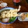 🚩外食日記(178)    宮崎ランチ   「忠太郎茶屋」より、【えび天うどん】【いなり】‼️