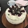 ☆父の日に作ったケーキ「Schwarzwälder kirschtorte」