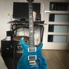 20171025 PRS Custom24 10Top Blue Matteo