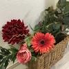 イケアで造花を買いました。08/11 日