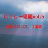 にっしー短観vol.5(投資スタンス、2番底)
