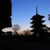 京都「東寺の朝」2016
