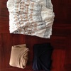 今日の捨て。細々と洋服を捨てています!