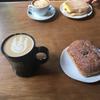 初めてのカフェへ。