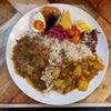 【スパイスカレーBON'S】関目で頂くカレーの賀正プレートはスパイス栗ご飯と多彩な副菜の豪華プレート。