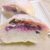 ブルーベリージャムとクリームチーズの丸ぱん