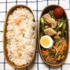 20180601鶏もも肉とアスパラのバジル炒め弁当&お薬大好き