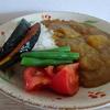 加賀野菜入りの金沢カレーに夏野菜トッピング