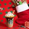【スタバ新作情報】12/4サンタブーツチョコレートフラペチーノが発売♪