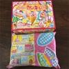 3歳3ヶ月 娘、初めての知育菓子(๑° ꒳ °๑)