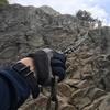 【登山】岩場が楽しい!鎖場練習に最適な「乾徳山」に登ってきました。