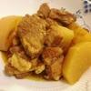 即席カレールーで❗️大根と豚ばら肉のカレー煮〜おうちでナイトゲレンデ😊