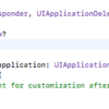 iOSアプリ開発メモ No.12 -App Delegateを使ったView Controller間のデータ移動-