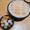 メロンパンみたいなかき氷@東区焦糖練乳包心粉圓(台北、台南)