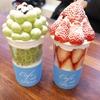 韓国グルメ旅行記9~イチゴとマスカットたっぷりパフェ!見た目可愛いタルギボンボン