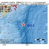 2016年09月27日 16時28分 関東東方沖でM3.5の地震