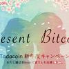 タダコインでお友達紹介キャンペーンが始まりました!2万satoshiプレゼントフォーユー!特別広告もあるそうです♪