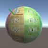 頂点座標とUV座標から接ベクトルを求める