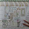 3】パン屋さん窓ガラス部分の塗り方紹介です☆憧れのお店屋さんより