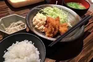 2月27日 玄品大阪北新地 カキフライ定食