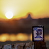 ちょっくらドライブキメて来た ~関宿城と夕陽~