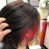 カラーリングした髪も  シャンプーはしっかりとっ!