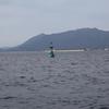 関門航路灯浮標と六連島立標