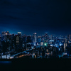 梅田スカイビル「空中庭園」の絶景夜景の撮影が楽しかった