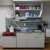 【WEB内覧会 キッチン】ゆるミニマリストが暮らす築50年のボロマンションのキッチンスペースをダイソーグッズでカスタム
