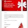 vodafone.ie の クリスマスプレゼントが来た!