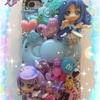 キャラパーツでデコiPhoneケースを作ってみたその7★キュアダイヤモンド&キュアソード(ドキドキ!プリキュア)★