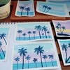 *【水彩画】久しぶりに描いた海の絵♡*