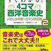 【読書録】すぐわかる!4コマ西洋音楽史2