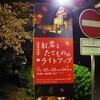 夜の紅葉狩り〜紅葉とたてもののライトアップ〜