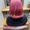 ケアブリーチを使ったハイトーンの【ピンクカラー】で劇的イメチェン