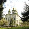 ウクライナ旅行[64](2019年5月) キエフの観光スポット:聖ミカエル・ヴィードゥビチ修道院