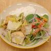 豚と厚揚げの春キャベツ味噌炒め