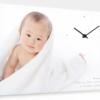 大切な写真に時計をプラス!アンビエンテのキャンバスクロック