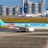 威力はともかく・・・派手だ!大韓航空の特別塗装機はインパクトがすごい!